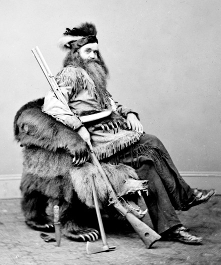 Seth Kinman: The Grizzly Bear Chair, 1865