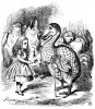 John Tenniel: Illustration for Alice's Adventures in Wonderland, London 1865